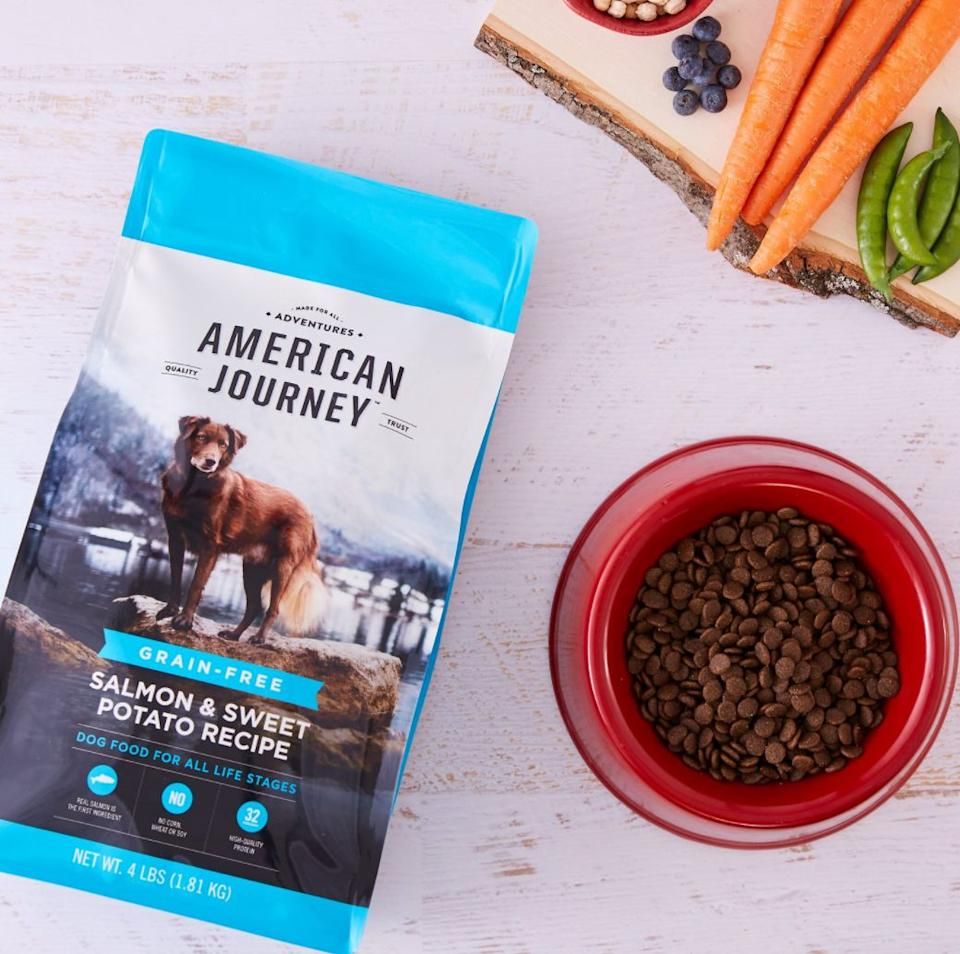 """<a href=""""https://fave.co/3azuqCk"""" target=""""_blank"""" rel=""""noopener noreferrer"""">Chewy</a> offers an autoship option that allows you to get recurring deliveries of pet products,like this <a href=""""https://fave.co/2O9wPds"""" target=""""_blank"""" rel=""""noopener noreferrer"""">salmon and sweet potato dog food</a>, for the furriest member of your family. You can even save on select brands and select your schedule.<br /><br />Check out <a href=""""https://fave.co/3azuqCk"""" target=""""_blank"""" rel=""""noopener noreferrer"""">Chewy's autoship options for orders</a>."""