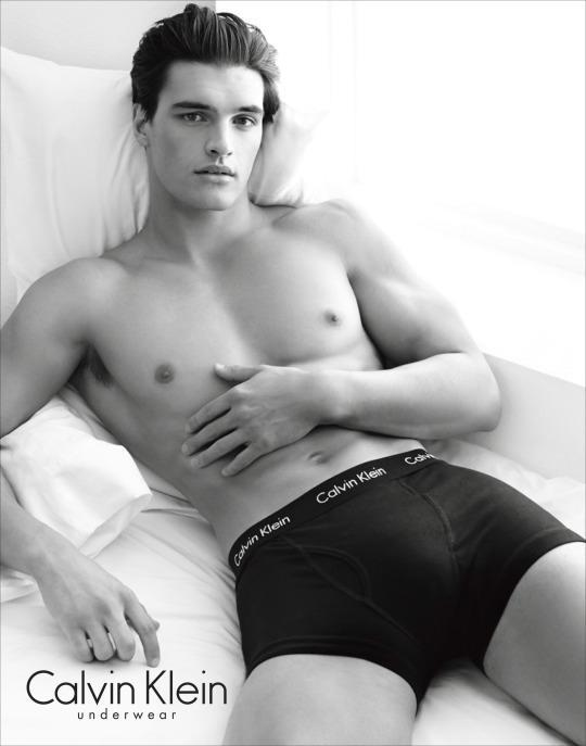 <p>The face of Calvin Klein underwear and jeans.</p>