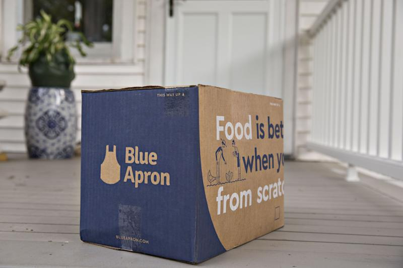 Blue Apron Is Seeing 'Sharp Increase' in Meal-Kit Demand
