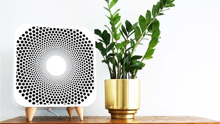 This machine is an effective air purifier and cooling fan, all rolled into one.