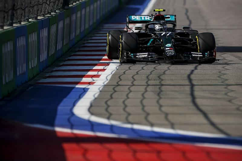 Bottas tops first practice in Russia with Hamilton 19th