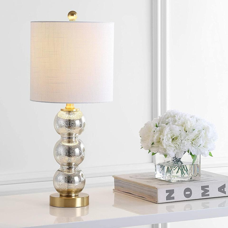 <p>Add this <span>Jonathan Y February Metal LED Lamp</span> ($45) to any end table.</p>