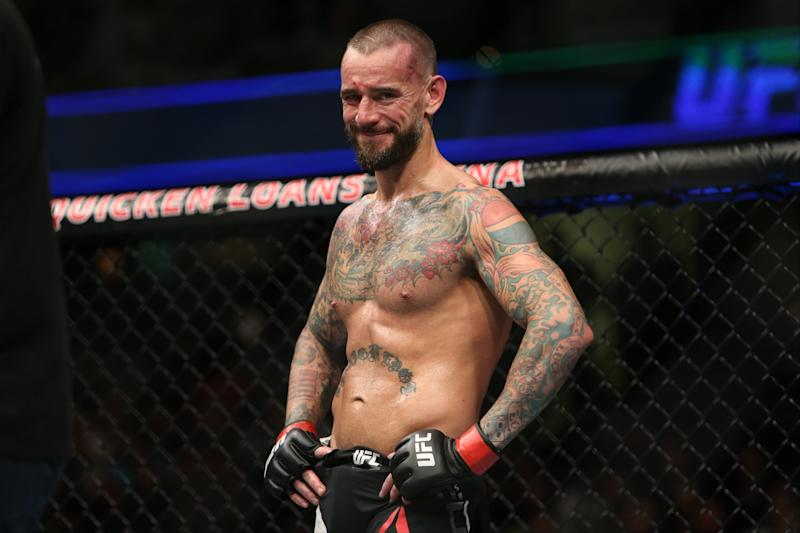 Ex-WWE star CM Punk references a second UFC fight in June
