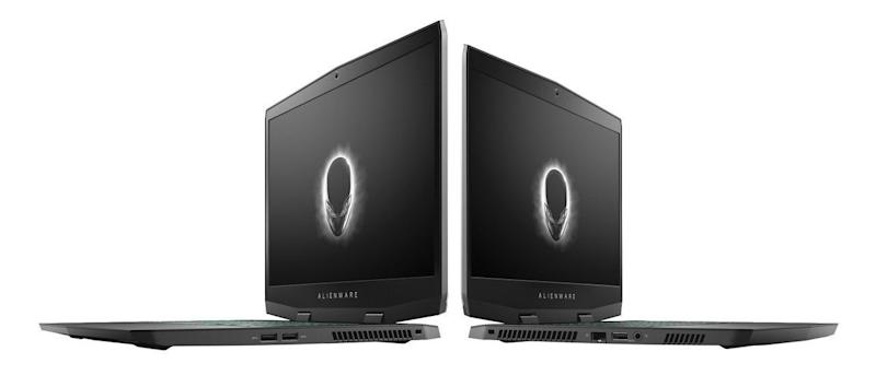Alienware's revamped m15 and all-new m17 are bringing the gaming fire to CES.