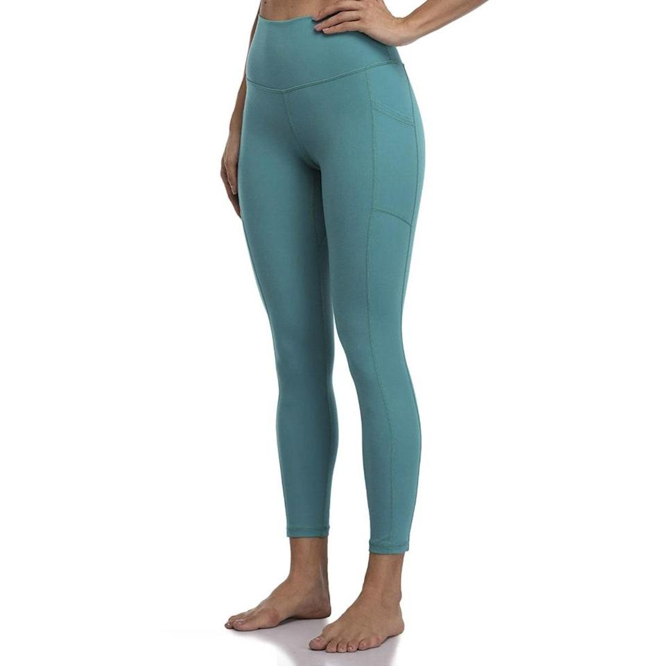 """<p><strong>Reviews & rating:</strong> 31,007 reviews, 4.6 out of 5 stars</p> <p><strong>Key selling points:</strong> Multiple reviewers contend that these $25 leggings are just as good as Lululemons. Made of a buttery-soft, stretchy fabric, these leggings are dually suited to high-intensity workouts and lounging around the house. Plus, they come in 38 different colors and patterns as well as five different sizes. </p> <p><strong>What customers say:</strong> """"Let me start off by saying I am a big fan of Lululemon. But after hearing several bloggers rave about these leggings, I decided to order a pair. They 100% live up to the hype! They're incredibly comfortable, fit perfectly, and provide just the right amount of compression and stretch. They appear to be very well constructed, based on the fabric quality and stitching. Only time will tell if they hold up as well as Lululemon, but for $25, I won't be too upset if I have to replace them in six months. I've already ordered another pair of these awesome leggings!"""" —<a href=""""https://amzn.to/3sgOWzK"""" rel=""""nofollow noopener"""" target=""""_blank"""" data-ylk=""""slk:Rachel"""" class=""""link rapid-noclick-resp""""><em>Rachel</em></a><em>, reviewer on Amazon</em></p> $25, Amazon. <a href=""""https://www.amazon.com/Colorfulkoala-Womens-Waisted-Leggings-Pockets/dp/B07G55R2LB/ref="""" rel=""""nofollow noopener"""" target=""""_blank"""" data-ylk=""""slk:Get it now!"""" class=""""link rapid-noclick-resp"""">Get it now!</a>"""
