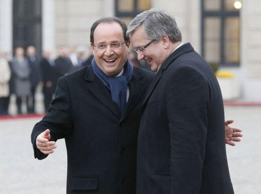 France, Poland join forces ahead of EU budget showdown