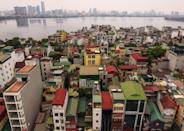 """The first tube houses -- known as """"nha ong"""" in Vietnamese -- are thought to have appeared in the capital at the end of the 19th century"""
