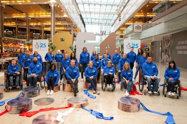Olympians from up and down the country gathered at Westfield in Stratford to celebrate the 25th anniversary of National Lottery Funding