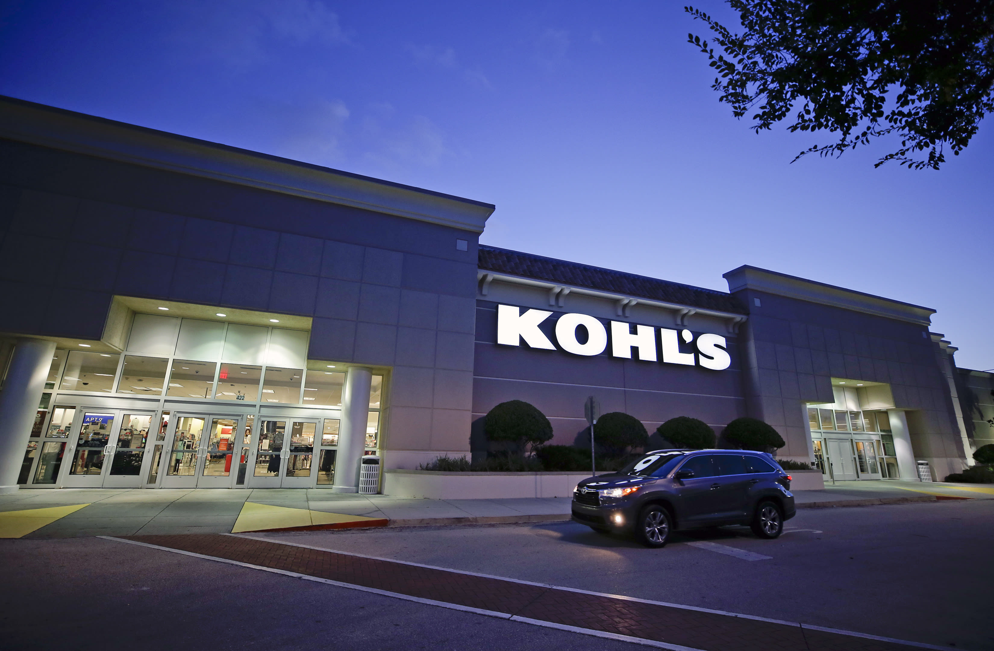 Earnings from Kohl's will be an investor highlight on Tuesday.  (AP Photo/John Raoux)