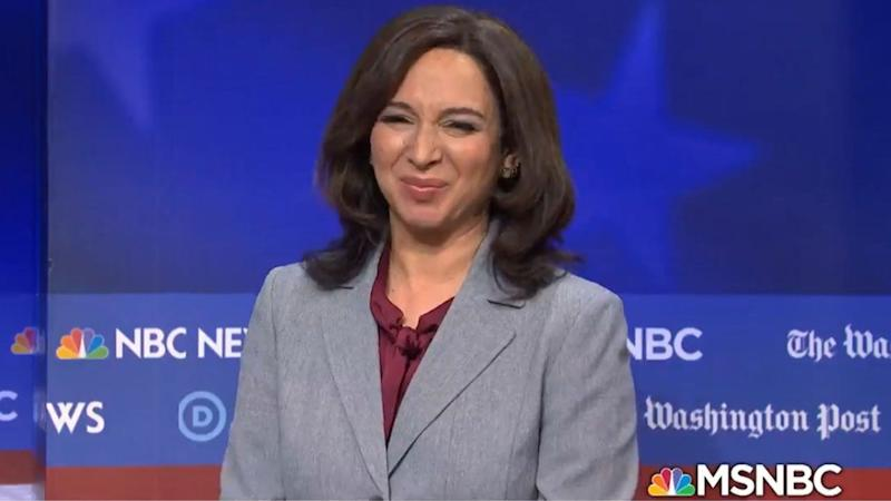 Maya Rudolph, Fred Armisen, Larry David and More Stars Drop By 'SNL' for Epic Democratic Debate