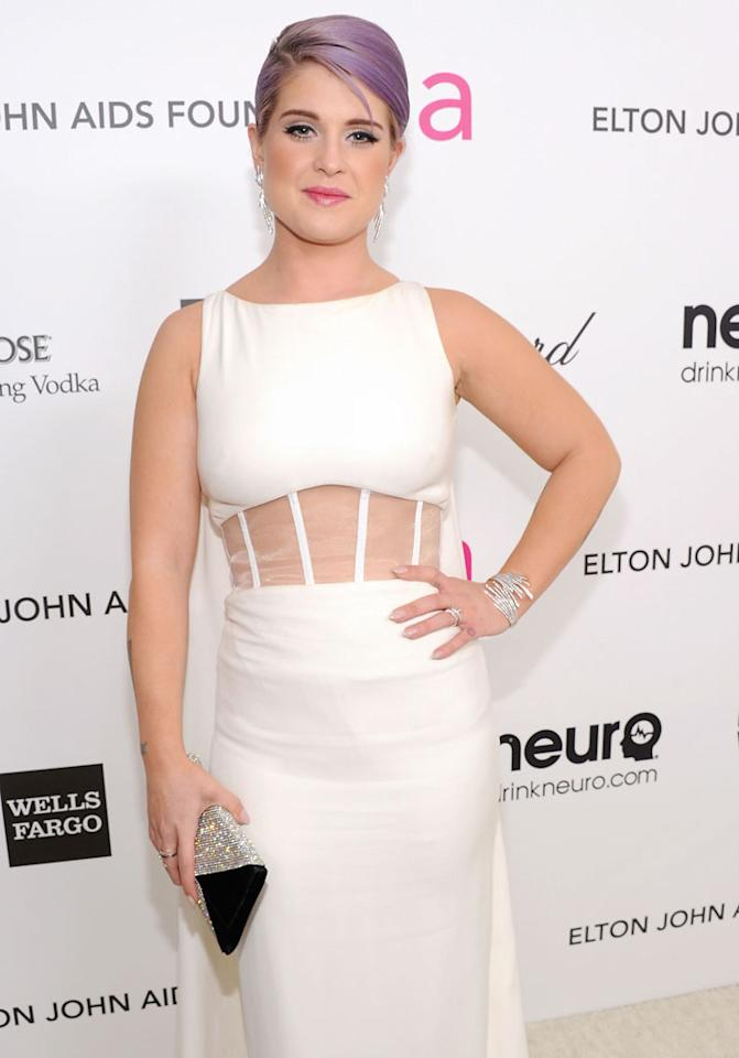 Kelly Osbourne attends the 21st Annual Elton John AIDS Foundation Academy Awards Viewing Party at Pacific Design Center on February 24, 2013 in West Hollywood, California