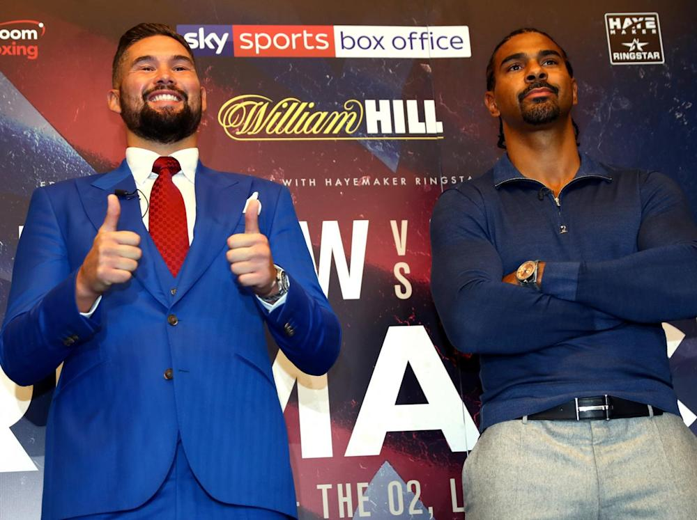 Bellew won their first fight in the eleventh round (Getty)