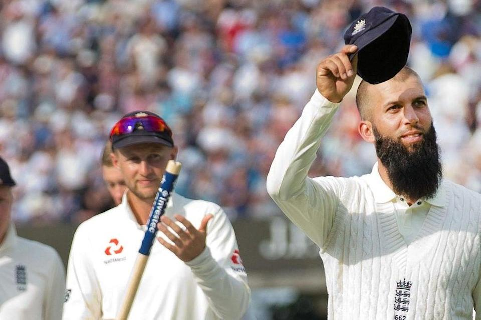 Moeen Ali was captained by Joe Root in 27 Test matches for England (Rex Features)