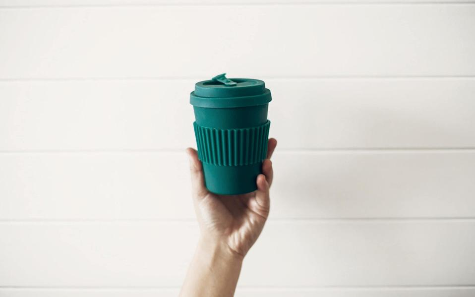 Several cafes have stopped accepting reusable cups during the pandemic - Alamy