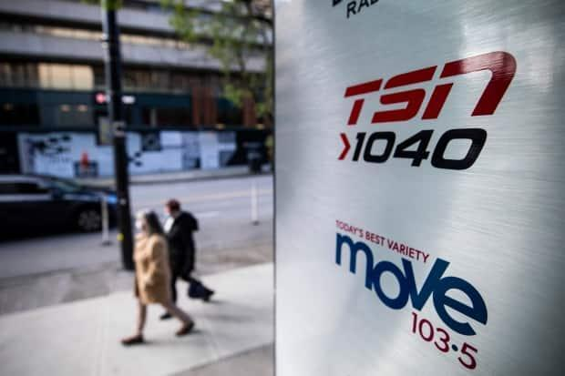 TSN-branded sports radio stations owned by Bell Media in Vancouver, Winnipeg and Hamilton will no longer be all-sports stations, the company said Tuesday.