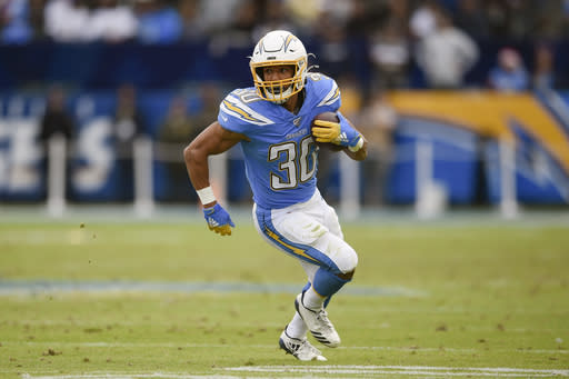 Chargers' Ekeler has new role but maintains same mindset