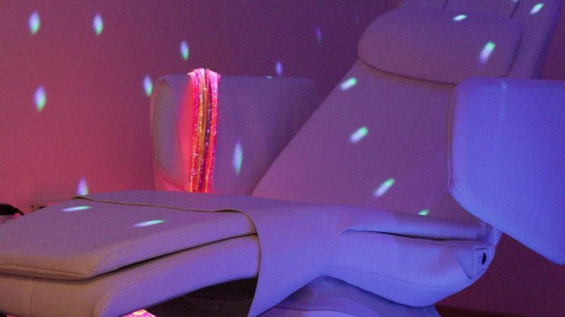 Snoezelen, first developed in the Netherlands in the 1970s, delivers stimulation through lights, colour, sound, and scent in a controlled environment. (PHOTO: Yahoo News Singapore)