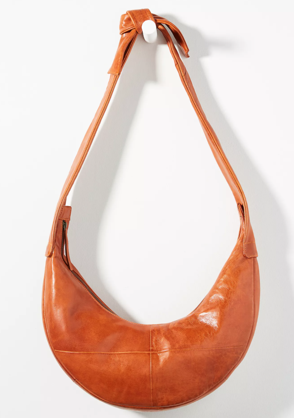 Anthropologie Maude Slouchy Leather Sling Bag