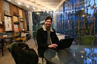 Digital nomad Andrew Braun, a 28-year-old web developer from the US state of New Jersey, says he appreciates the friendliness of Georgians