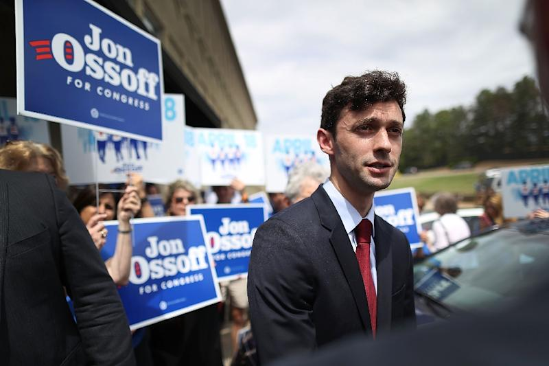 Georgia congressional race: Democrat Ossoff, Republican Handel will go to run-off
