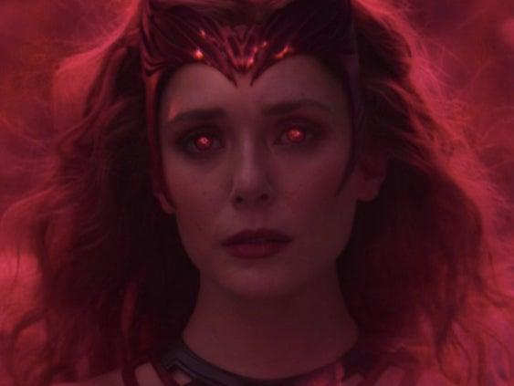 Wanda transforms into the Scarlet Witch in the 'WandaVision' finaleMarvel Studios