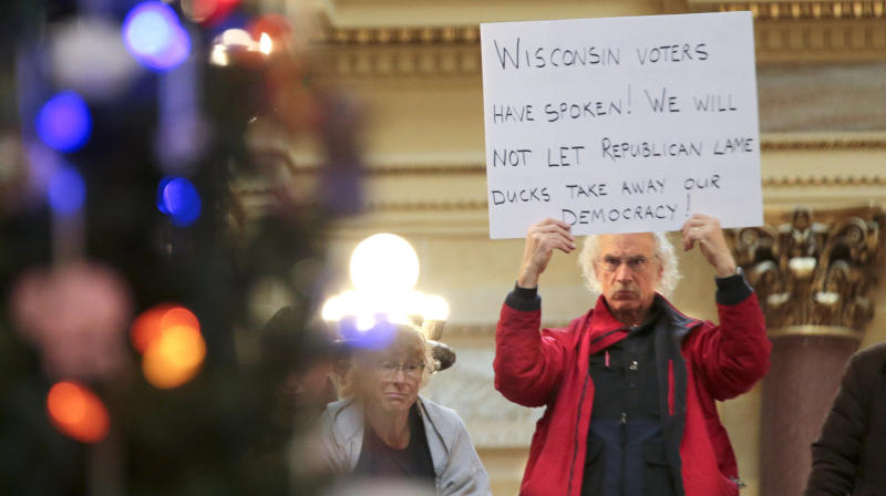 Lame-Duck Republicans Stick It To The Poor In Wisconsin