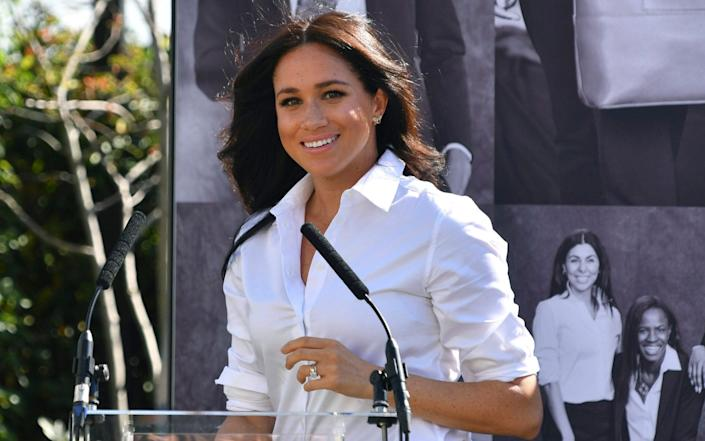The editor also added to the entry that Meghan Markle was 'Founder of The TIG', her lifestyle blog at the time - Mark Large