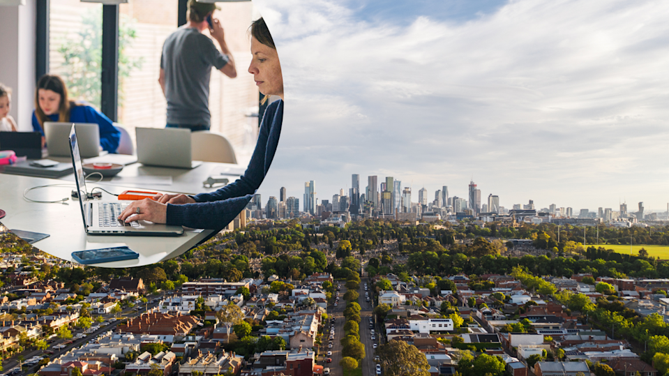 Melbourne takes top spot as the world's best city to work from home, despite enduring three hard COVID-19 lockdowns. Source: Getty