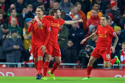 Com gol de Firmino, Liverpool vence Arsenal e assume terceiro lugar