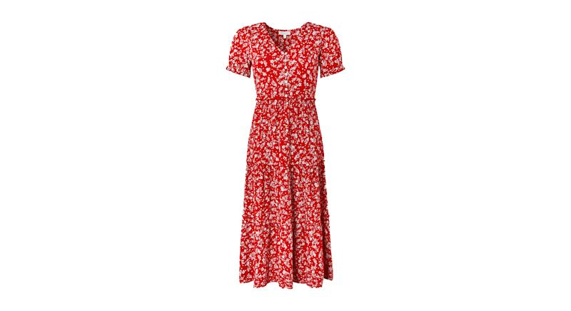 Natty Ditsy Floral Midi Dress