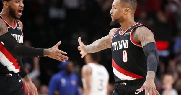 Basket - NBA - NBA : Damian Lillard (Portland) inscrit 50 points face à Indiana et Atlanta marque 152 points contre Washington
