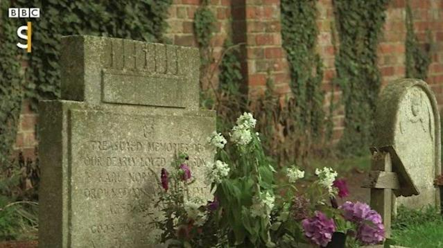 A graveyard mystery that's been puzzling residents of an English village for decades has finally been solved ― at least partially ― thanks to the dogged determination of the BBC.