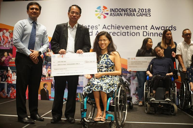 The 26-year-old multiple Paralympic gold-medallist wasappointed a Nominated Member of Parliament (NMP) in September.