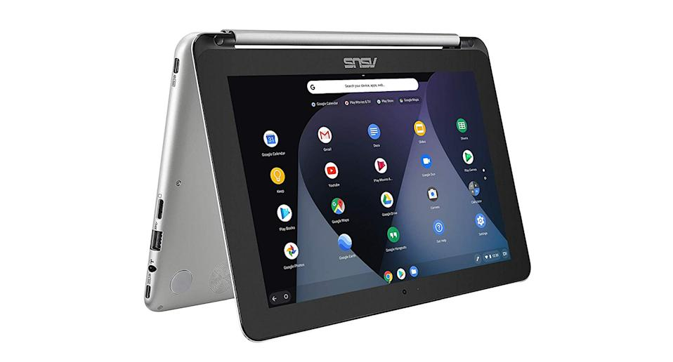 """<a href=""""https://www.amazon.co.uk/ASUS-C101PA-FS002-10-1-inch-Touchscreen-Chromebook/dp/B073R9CXM2?tag=yahooukedit-21"""" rel=""""nofollow noopener"""" target=""""_blank"""" data-ylk=""""slk:Buy now."""" class=""""link rapid-noclick-resp""""><strong>Buy now.</strong></a>"""
