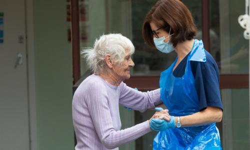 Coronavirus: government promise free PPE for UK care workers this winter