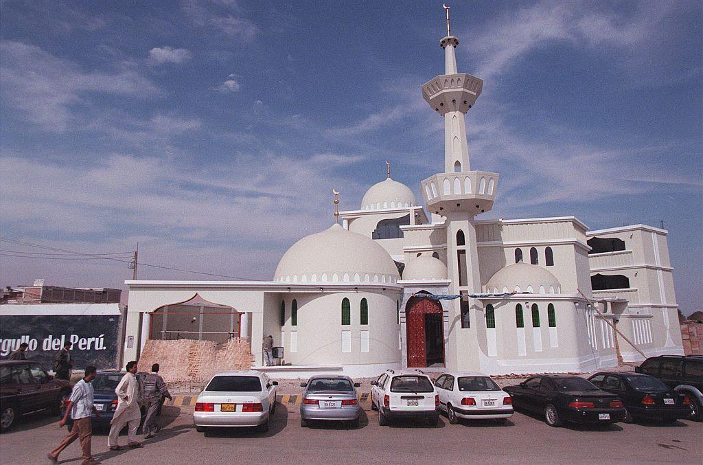 <p>TACNA, PERU: A mosque in Tacna, Peru. The city is home to a large number of Pakistani families.</p>