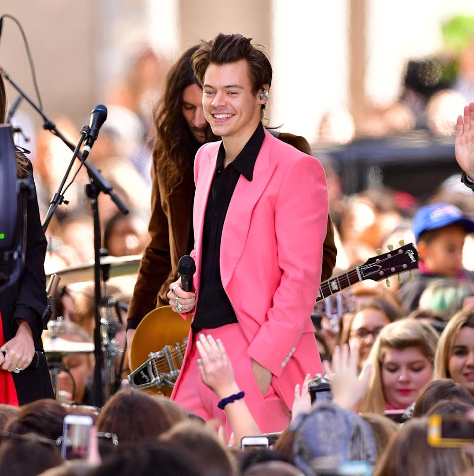harry styles today show 2017