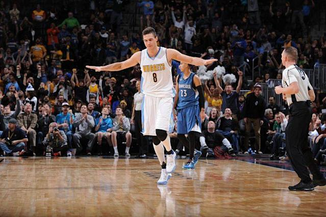 After seven seasons, Danilo Gallinari might be about to fly out of Denver. (Getty Images)