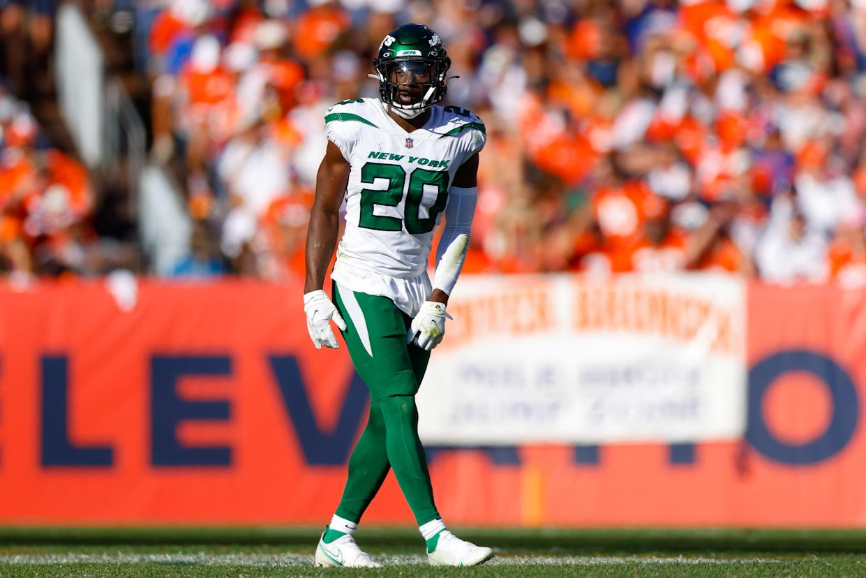 Safety Marcus Maye of the New York Jets