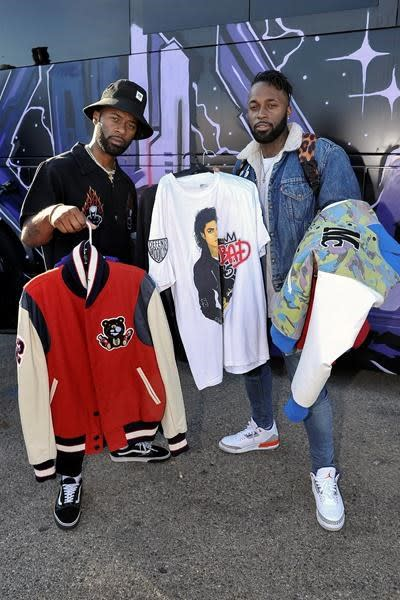 Chris Brown holds high-end yard sale at his Los Angeles home