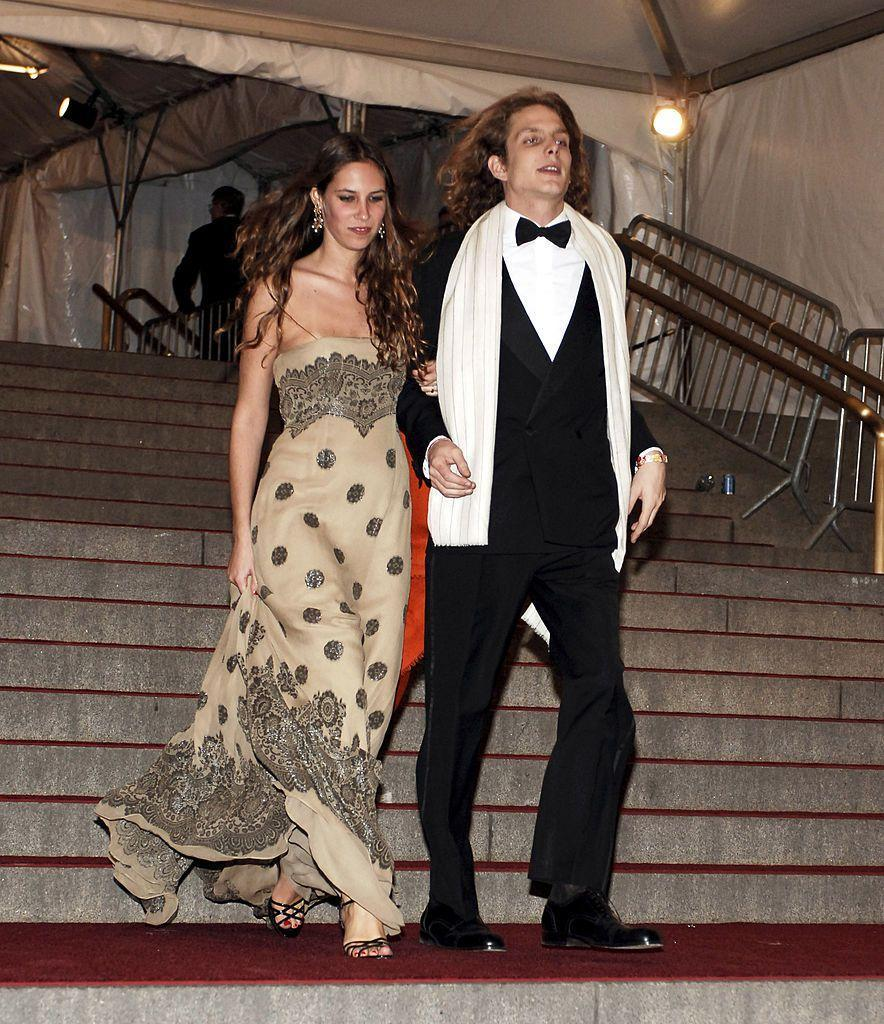 <p>Casiraghi attended the Met Gala with his now wife, Tatiana Santo Domingo. </p>