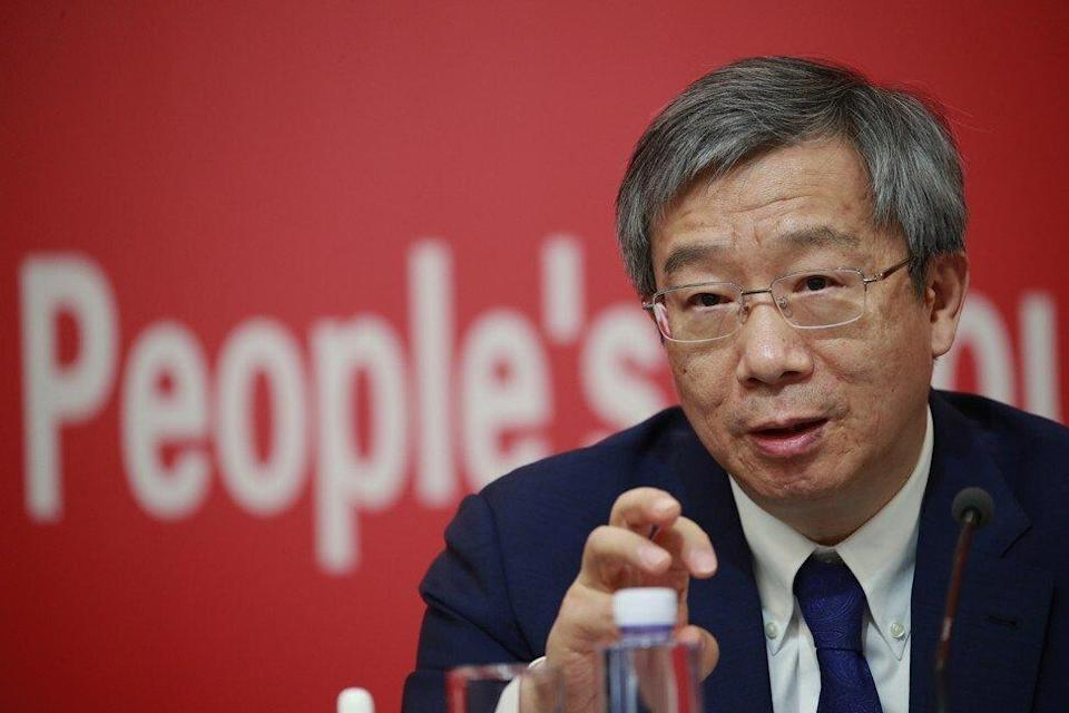 People's Bank of China governor Yi Gang called for more international cooperation on data regulation. Photo: EPA-EFE