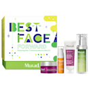 """Here's to brighter skin (and hopefully everything else) in 2021. Get a head start with this kit which includes a powerful retinol, AHA cleanser, vitamin C serum, and nutrient-rich water cream. $89, Sephora. <a href=""""https://www.sephora.com/product/murad-best-face-forward-P463472"""" rel=""""nofollow noopener"""" target=""""_blank"""" data-ylk=""""slk:Get it now!"""" class=""""link rapid-noclick-resp"""">Get it now!</a>"""
