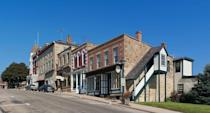 "<p><a href=""http://mineralpoint.com/"" rel=""nofollow noopener"" target=""_blank"" data-ylk=""slk:Mineral Point"" class=""link rapid-noclick-resp"">Mineral Point</a> is the third oldest city in the state, with well-preserved buildings that make you feel as if you're back in time. You'll find antiques shops and other creative businesses downtown. Restaurants also often pay homage to the Cornish founders of the town with pasties and <a href=""http://www.foodsofengland.co.uk/figgiehobbinorfiggyhobbin.htm"" rel=""nofollow noopener"" target=""_blank"" data-ylk=""slk:figgyhobbin"" class=""link rapid-noclick-resp"">figgyhobbin</a>. </p>"