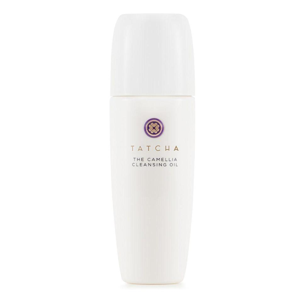 """<p><strong>Tatcha</strong></p><p>tatcha.com</p><p><strong>$38.00</strong></p><p><a href=""""https://go.redirectingat.com?id=74968X1596630&url=https%3A%2F%2Fwww.tatcha.com%2Fproduct%2Fcamellia-cleansing-oil-face-wash%2FCC01110T.html&sref=https%3A%2F%2Fwww.harpersbazaar.com%2Fbeauty%2Fskin-care%2Fg37611110%2Ftatcha-friends-family-sale%2F"""" rel=""""nofollow noopener"""" target=""""_blank"""" data-ylk=""""slk:Shop Now"""" class=""""link rapid-noclick-resp"""">Shop Now</a></p><p>Upgrade your <a href=""""https://www.harpersbazaar.com/beauty/skin-care/a37376179/huda-kattan-wishful-moisturizer-review/"""" rel=""""nofollow noopener"""" target=""""_blank"""" data-ylk=""""slk:bedtime routine"""" class=""""link rapid-noclick-resp"""">bedtime routine</a> with this gentle cleanser that uses camellia oil as its star ingredient to remove dirt, oil, and even waterproof makeup without stripping your skin.</p>"""