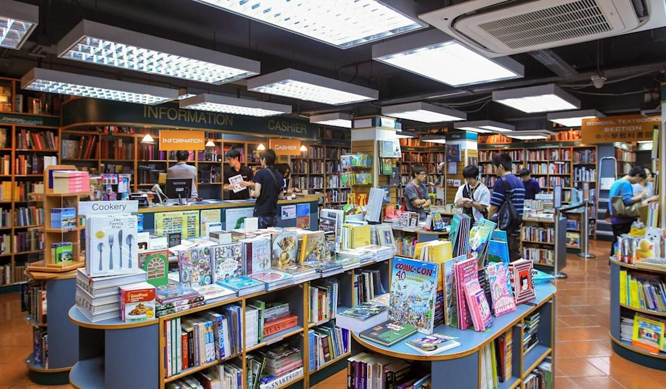 Booksellers in Hong Kong have struggled as reading habits changed and high rents squeezed margins. Photo: Jonathan Wong