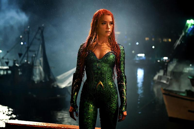 Amber Heard Addresses Petition to Remove Her From 'Aquaman 2'