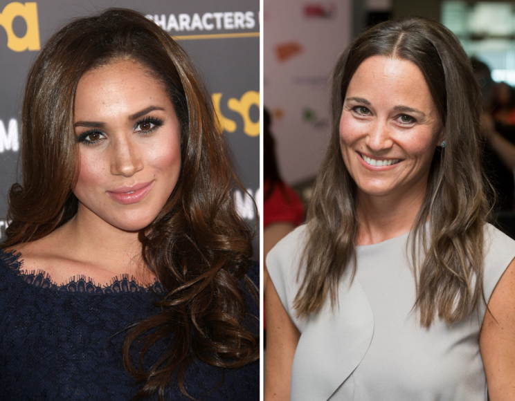 <i>Meghan Markle will only be allowed to Pippa Middleton's wedding reception [Photo: Getty]</i>