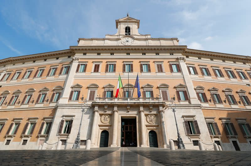 Italians back cutting number of lawmakers in referendum - exit poll