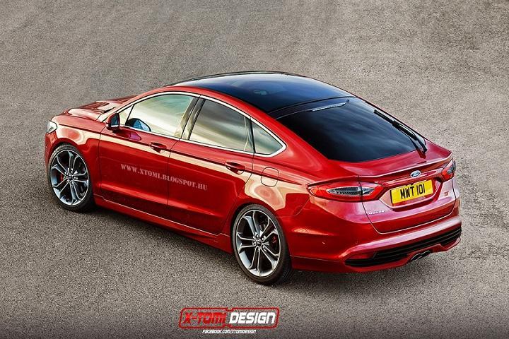 Ford Fusion Mondeo St Rendering Makes Us Drool